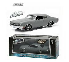 1:43 Greenlight Fast & Furious Dom's Grey 1970 Chevrolet Chevelle SS