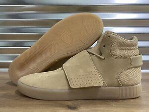 Adidas Originals Tubular Invader Strap Lifestyle Shoes Khaki Brown SZ ( CG5069 )