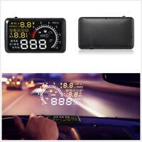 """Universal 5.5"""" Car Off-Road HUD Head Up Display Engine Speed Warning Gauge Meter"""