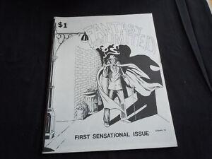 FANTASY UNLIMITED #1 1977  Fanzine  By David Mazzucchelli, Jack C. Harris