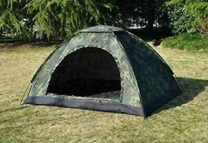 Dome Tent Portable Waterproof For Military Picnic Camping -  2 Person - F Ship