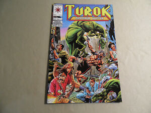 Turok Dinosaur Hunter #2 (Valiant 1992) Free Domestic Shipping
