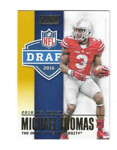 MICHAEL THOMAS 2016 SCORE NFL DRAFT ROOKIE RC $20.00 NEW ORLEANS SAINTS