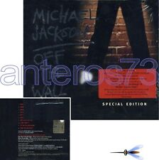 "MICHAEL JACKSON ""OFF THE WALL"" CD SPECIAL ED. + BONUS"