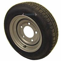 """Trailer Wheel and Tyre 155 / 70 R12 6-1/2"""" PCD 5 STUD TRSP07"""
