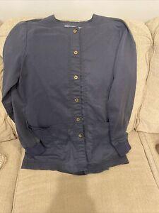 Greys Anatomy Scrub Jacket Gray Small