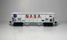 "Athearn HO Scale 2 Bay Open Hopper ""NASA"" Custom"