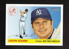 Jason Giambi--2004 Topps Heritage Short Print Baseball Card--New York Yankees