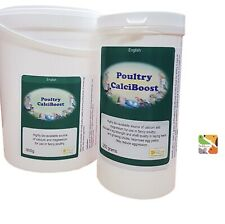 250g Poultry Calciboost. Farm Bird Supplement, Breeding, Feather Aid & Young