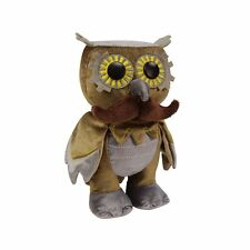 "WhimWham Cogswell Pennyfeather Owl Steampunk 8"" Plush Toy"