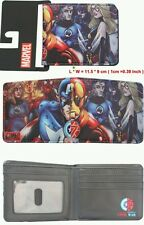 New Stylish Retro Marvel Fantastic 4 Comic Print BI-Fold Wallet  -  UK Sale