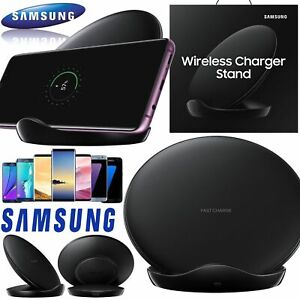 Genuine Samsung EP-NG930 Wireless Fast Charging Stand - Black S10+ S9+ S20+