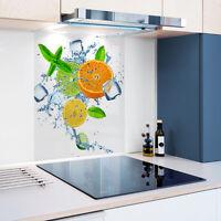 Personalised Photo Digital Glass Splashback Heat Resistant Toughened 100cm x80cm