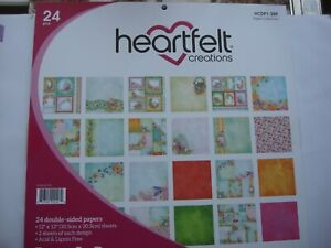 Heartfelt Creations Butterfly Dreams Collection 24 double sided 12 x 12 papers