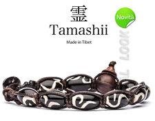 BRACCIALE ORIGINALE TIBETANO TAMASHII BKRA SHI (Simbolismo) GIOIA
