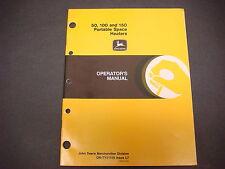 John Deere Operators Manual No.Om-Ty21529,Issue L7,50,100,150,Space Heaters
