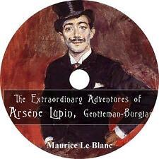 Extraordinary Adventures of Arsène Lupin, Maurice Leblanc Audiobook on 1 MP3 CD