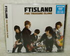 F.T Island FTIsland Japanese Album FIVE TREASURE ISLAND Taiwan Ltd CD+DVD Ver.A