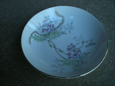 Vintage Valmont Purple  Wisteria Berry Bowl  Made in Japan