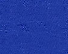 Fat Quarter Royal Blue Solid Cotton Quilting Fabric  50cm x 55cm