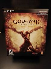 God of War Ascension Collector Limited Edition PS3 Statue Kratos Game