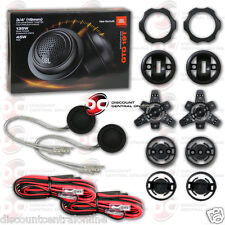 """JBL GTO19T 3/4"""" CAR AUDIO TWEETERS WITH PASSIVE CROSSOVER NETWORK (PAIR) GTO 19T"""