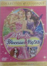 Barbie la Princesse et la Pop Star dvd