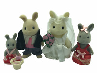 Calico Critters Sylvanian Families Wedding Couple and Wedding Party