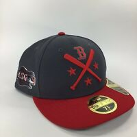 New Era 59fifty Boston Red Sox 2019 All Star Game Red Gray Fitted Hat 7 5/8