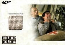 James Bond Archives Relic Card JBR34 Hessian Medical Pack, The Living Daylights