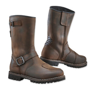 TCX Fuel Waterproof Motorcycle Riding Boots Vintage Brown Men''s