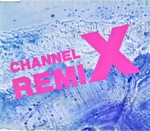 Channel X – Rave The Rhythm (Remix) 5 Track CD Single RAVE / HARDCORE CLASSIC
