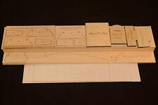 Plans /& Instruction ws 50 in Royal Mitsubishi RAIDEN J2M3 Laser Cut Short Kit