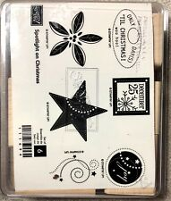 Stampin' Up! Spotlight on Christmas Stamp Set Unmounted Retired Holiday Joy Star
