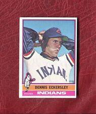 1976 TOPPS #98 DENNIS ECKERSLEY (HOF) (ROOKIE) INDIANS SET BREAK NMT+ / NMMT