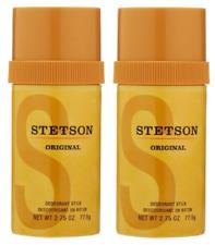 Stetson Original Deodorant Stick, 2.75 oz (Pack of 2)