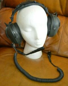 TELEX ProAir 2000HE  headset P/N 70470-001 Made in USA 1988 Vintage