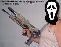 1:1 Scale Terminator 2 40-watt Phased Plasma Gun ENDO Rifle Paper Craft Model