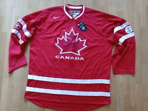 Canada 2010 Olympics Vancouver Hockey Jersey Nike Size 'XL' NEW with TAGS Shirt
