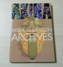 Akira Animation Archives Original Japan Version Anime Art Book Used