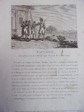 VAUCHER Grenadier à la 13e Brigade de Ligne. Floréal an 7. Mai 1799