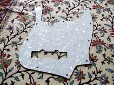 PICKGUARD JAZZ BASS 3 PLIS NEUF /  FINITION WHITE PEARL
