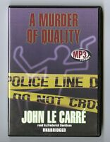 A Murder of Quality - by John le Carre - Unabridged Audiobook - MP3CD
