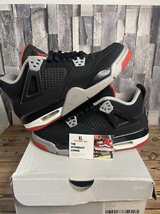 Size 6.5 - Jordan 4 Retro OG Bred 2019