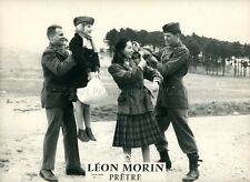 EMMANUELLE RIVA LEON MORIN PRETRE 1961 VINTAGE LOBBY CARD #1  MELVILLE