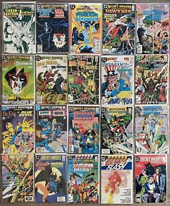 DC Comics Lot - Secret Origins Various Issues #7-39 + Annual 1 2 Special , JLA