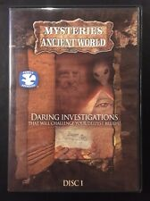 Mysteries of The Ancient World Religious DVD Bermuda Triangle Pyramids Psychics