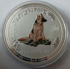 Australia 1 dollar 2006 Lunar Year of the Dog Shepherd  Silver 1 oz  №2