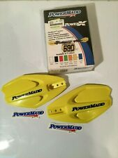 Powermadd 14285 PowerX Motorcycle Handlebar Guards Handguards FITS SUZUKI YELLOW