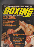 Boxing Today Magazine Thomas Hearns Chico Vejar August 1980